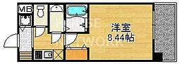 レジディア京都駅前[419号室号室]の間取り