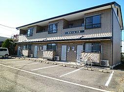 長野県岡谷市長地小萩2丁目の賃貸アパートの外観