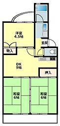 六名駅 4.5万円