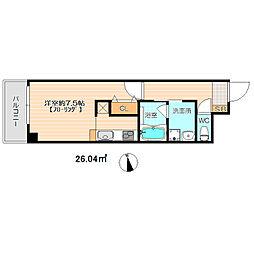 新築 MEINOHAMA416[202号室号室]の間取り