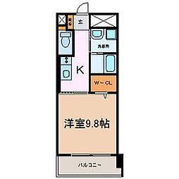 BERG大須[9階]の間取り