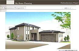 建物参考価格:6950万円(税込)・外構工事費用別途要