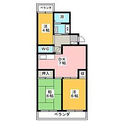 エントピアT[2階]の間取り