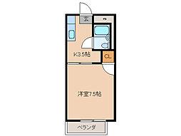 バイエルン[2階]の間取り