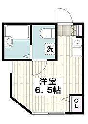 神奈川県横浜市南区永田東の賃貸アパートの間取り