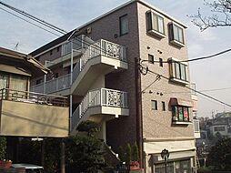 神奈川県横浜市港北区大曽根台の賃貸マンションの外観