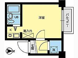 フォート子安[5階]の間取り