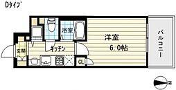 プレサンス難波元町[3階]の間取り