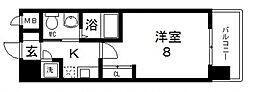ディナスティ東大阪センターフィールド[806号室号室]の間取り
