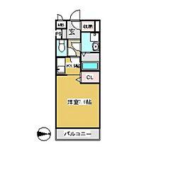 ジラ・ソーレ[2階]の間取り