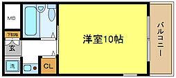 マツダ21[3階]の間取り
