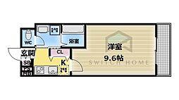 ディオーネ・ジエータ・長堂[8階]の間取り