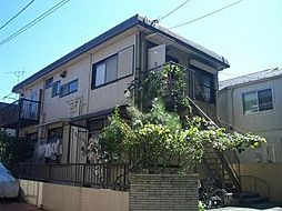 東京都日野市東豊田3丁目の賃貸アパートの外観