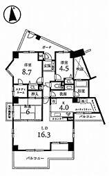 ローレルスクエア木津川台 9番館