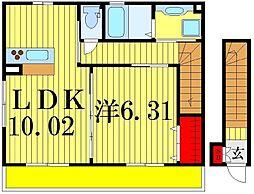 (仮)D−Room堀切3丁目[2階]の間取り