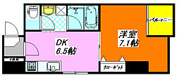 グラン・スイート 502号室[5階]の間取り