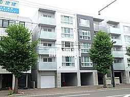 北海道札幌市中央区南八条西13丁目の賃貸マンションの外観
