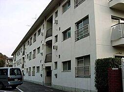 京都府京都市山科区安朱中溝町の賃貸マンションの外観