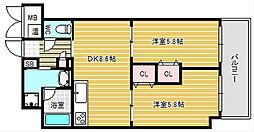 和良久[4階]の間取り