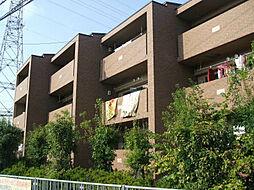 プラザハイツ二ツ屋G棟[1階]の外観