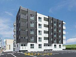 福岡県久留米市篠原町の賃貸マンションの外観