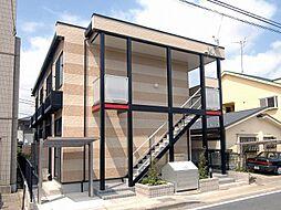 千葉県松戸市小山の賃貸アパートの外観