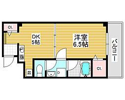 リヴィエール三井[7階]の間取り
