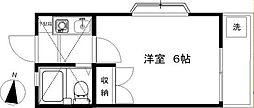 遠藤ドミール21[108号室]の間取り
