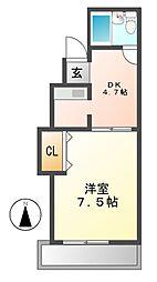 フレックス大須[10階]の間取り
