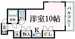 ジュネス姫路I[7階]の間取り
