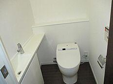 手洗いカウンター付タンクレストイレ