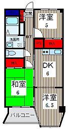 ニューグリーンマンション[2階]の間取り
