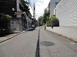 前面道路は公道...