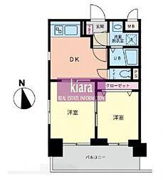 ファーストクラス横濱第2[4階]の間取り