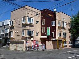 北海道札幌市北区北二十五条西8丁目の賃貸アパートの外観