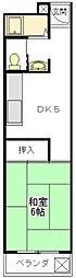 コーポパルム[3階]の間取り