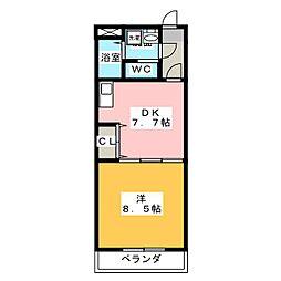 E−STAGE I[4階]の間取り