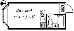 プラスパ志村I[1階]の間取り