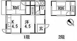 [一戸建] 広島県広島市安佐南区川内3丁目 の賃貸【/】の間取り