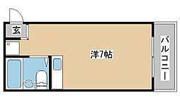 兵庫県神戸市垂水区瑞ヶ丘の賃貸マンションの間取り