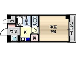 コートメロウ[2階]の間取り
