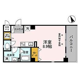 サクシード姫路駅南[2階]の間取り
