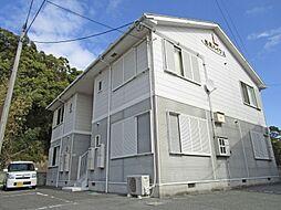 妙見ハイツA[201号室]の外観