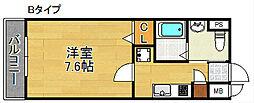 FDS amore[3階]の間取り