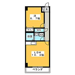 コルディエラ[12階]の間取り