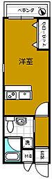 TKアンバーコート宿院[803号室]の間取り