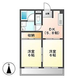 CASA KI[1階]の間取り