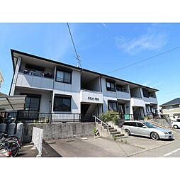 静岡県静岡市清水区北矢部の賃貸アパートの外観