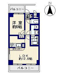 藤和シティコープ新中野III[3階]の間取り