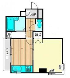 神奈川県相模原市中央区上溝3丁目の賃貸マンションの間取り